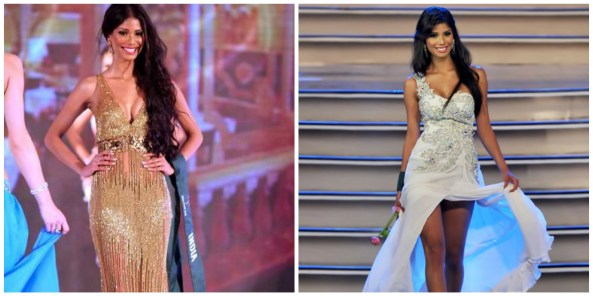 Shinata suggested Nicole Faria to change Golden gown, which got negative reviews, to White as to follow the tradition of White gown winners beauty queen of India.