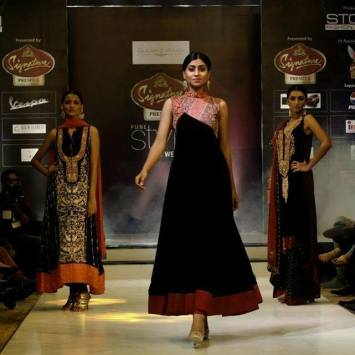 Swati Nanda at Signature Premier Fashion show