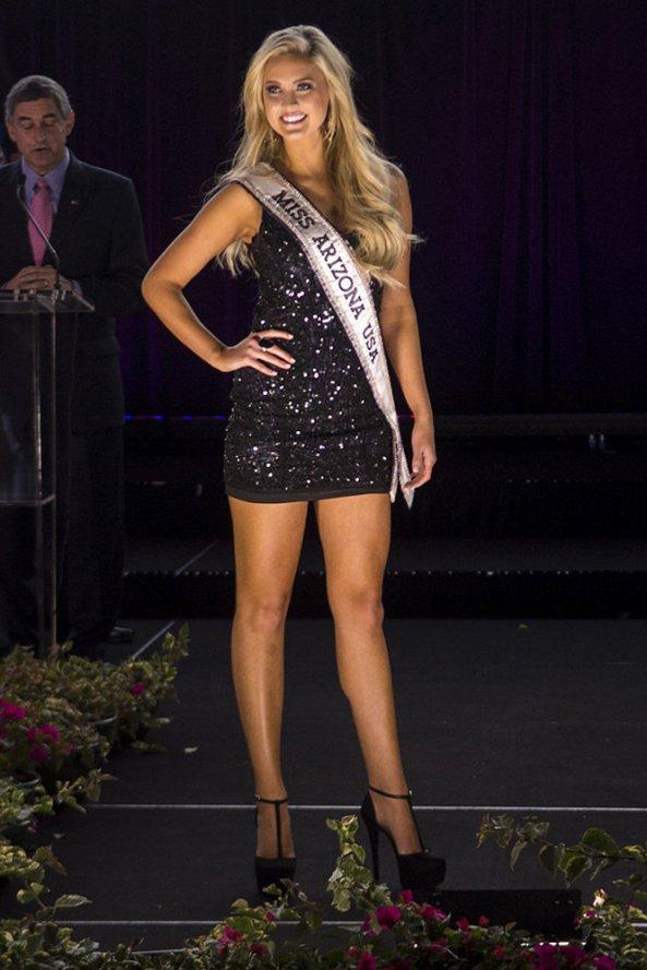 Jordan Wessel, Miss Arizona USA 2014