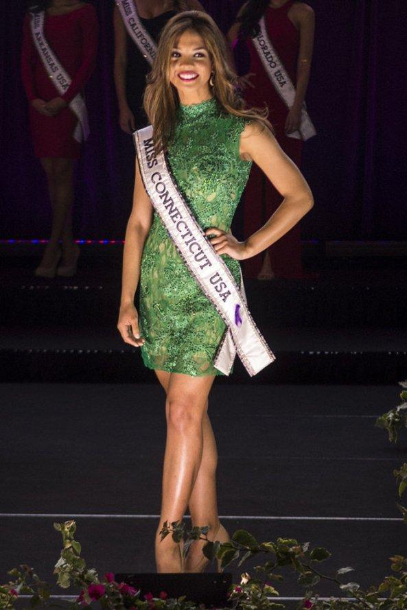 Desirée Pérez, Miss Connecticut USA 2014