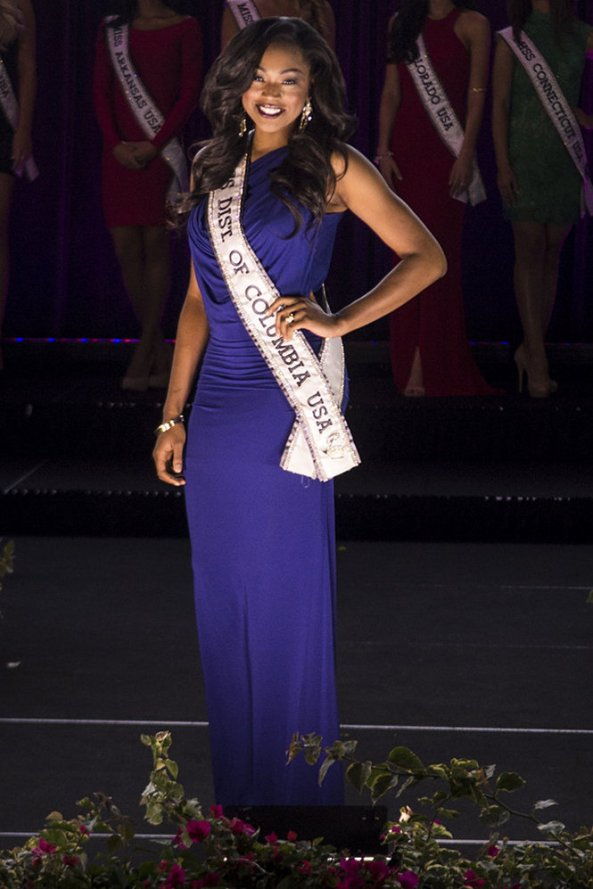 Ciera Nicole Butts, Miss District Of Columbia USA 2014