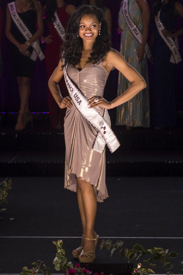Yvette Bennett, Miss Idaho USA 2014