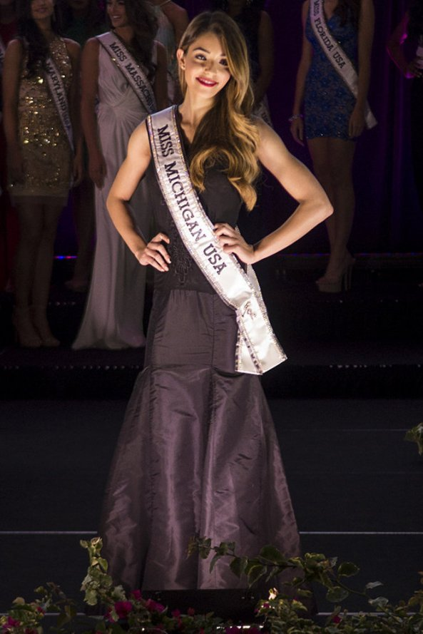Elizabeth Ivezaj, Miss Michigan USA 2014