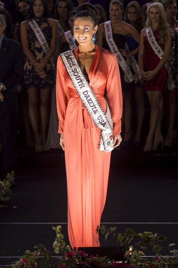 Brittney Palmer, Miss South Dakota USA 2014
