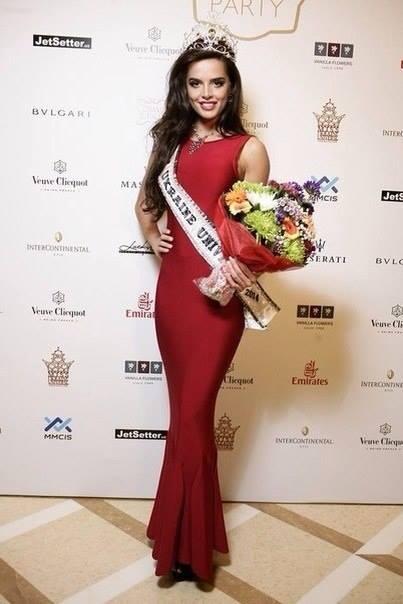 Miss Universe Ukraine 2014 Ana Andres.