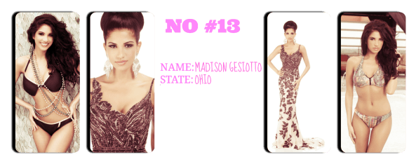 Miss Ohio USA 2014 ~ Madison Gesiotto