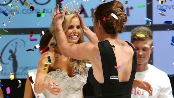 Tegan Martin Miss Universe Australia 2014
