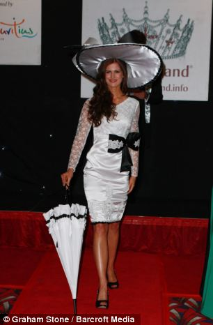 Carina Tyrrell,Miss England 2014.