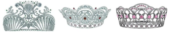 Current Miss USA,Miss Universe & Miss Teen USA crowns.