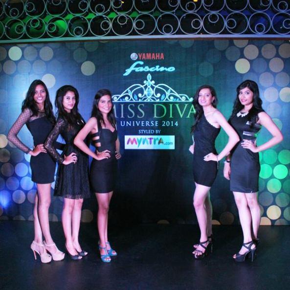 (L to R) Alice, Jaya, Sareena, Padamaja, Joyeeta.