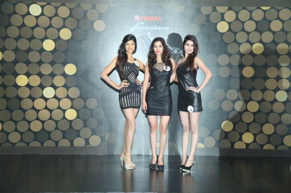 l-R Aparajita Verma, Vartika Singh and Sana Khan.