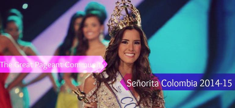 Paulina Vega Miss Universe Colombia 2014