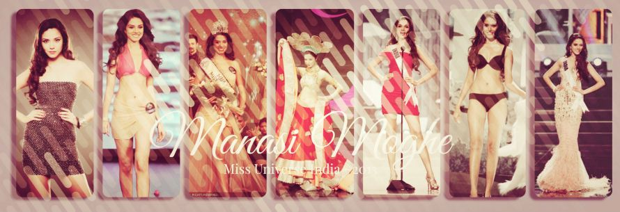 Manasi Moghe ~Miss Universe India 2013