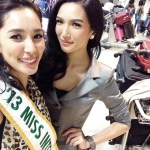 Miss International 2013 ~ BEa Santiago with Miss Philippines International 2014~Bianca Guidotti