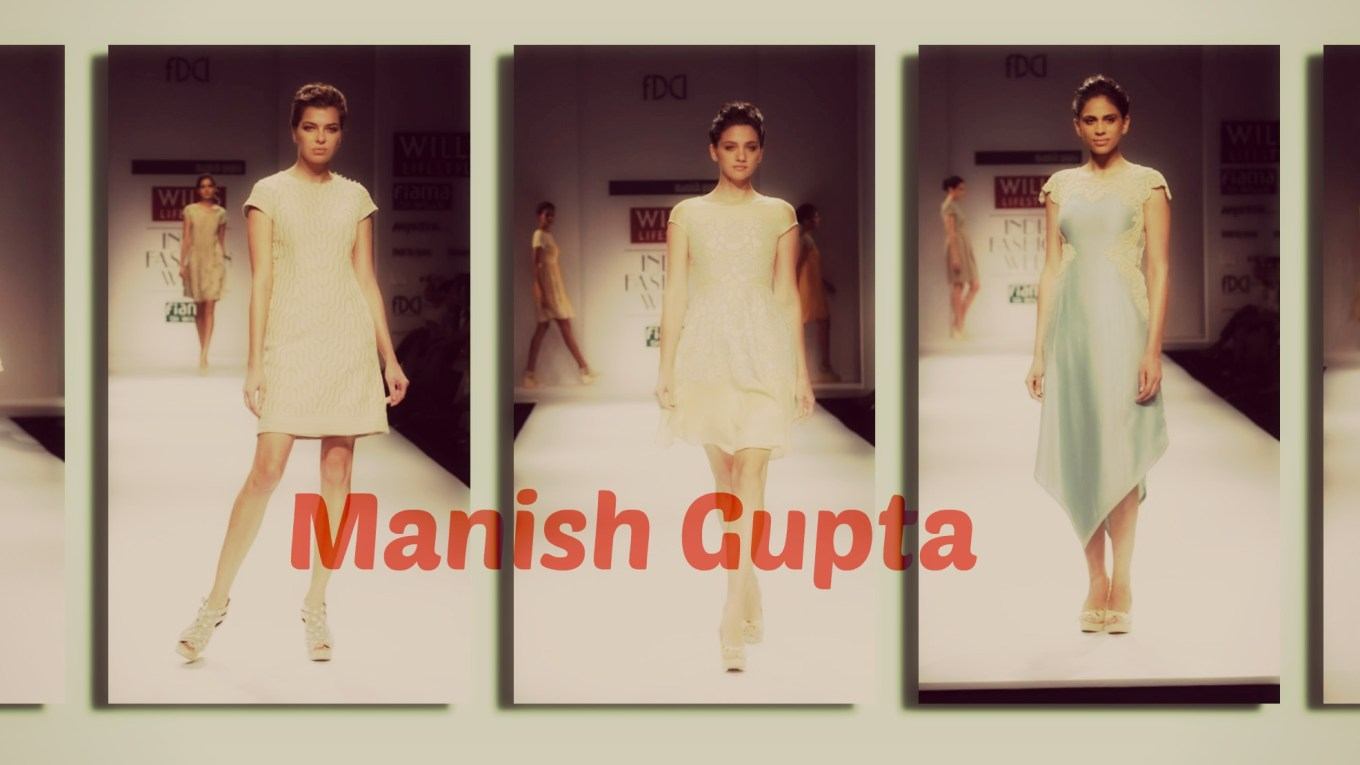 WIFW SS 15 Day 2 - Manish Gupta