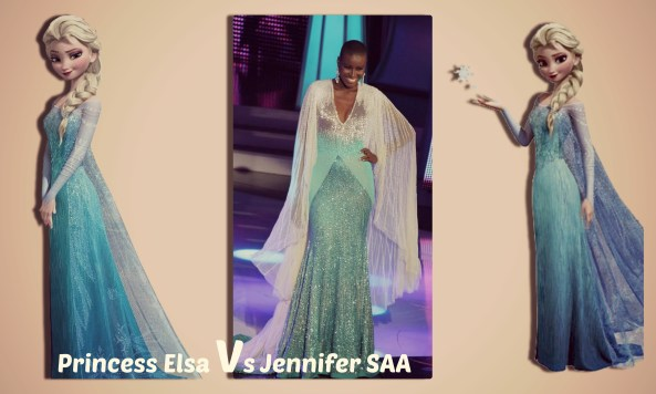 Jennifer Saa VS Princess Elsa