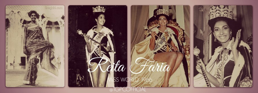 REITA FAIRA MISS WORLD 1966