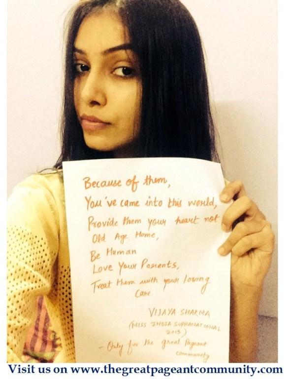 Vijaya Sharma, Miss Supranational India 2013