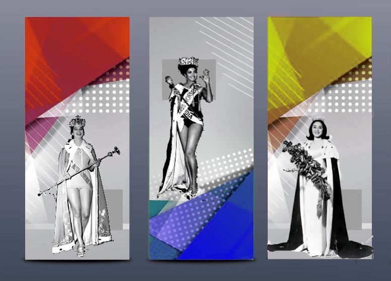 In Pics - Miss Universe 1958, Miss World 1966 & Miss International 1964