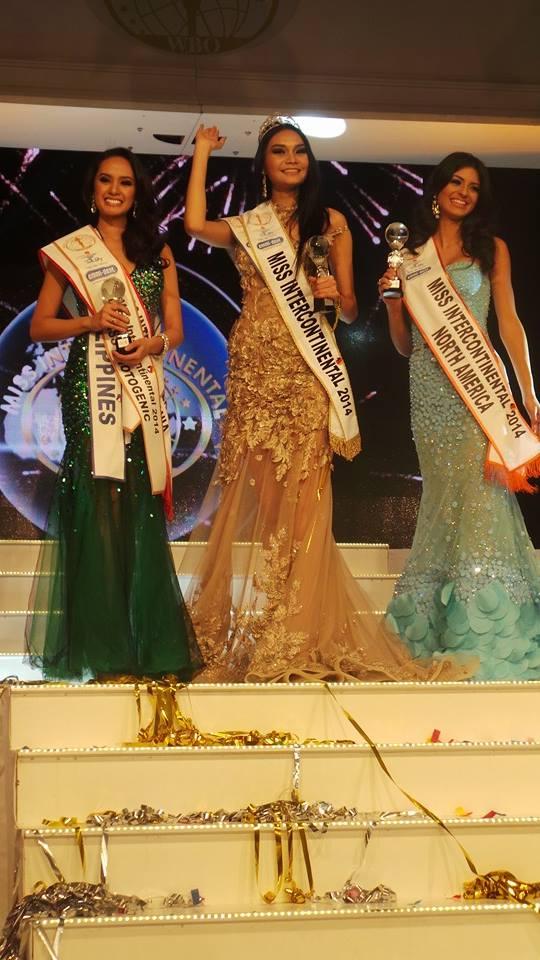 Miss Intercontinental 2014 Top 3