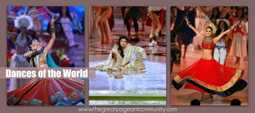 Indian Dances at Miss World: Manasvi Mamgai 2010, Vanya Mishra 2012 & Koyal Rana 2014