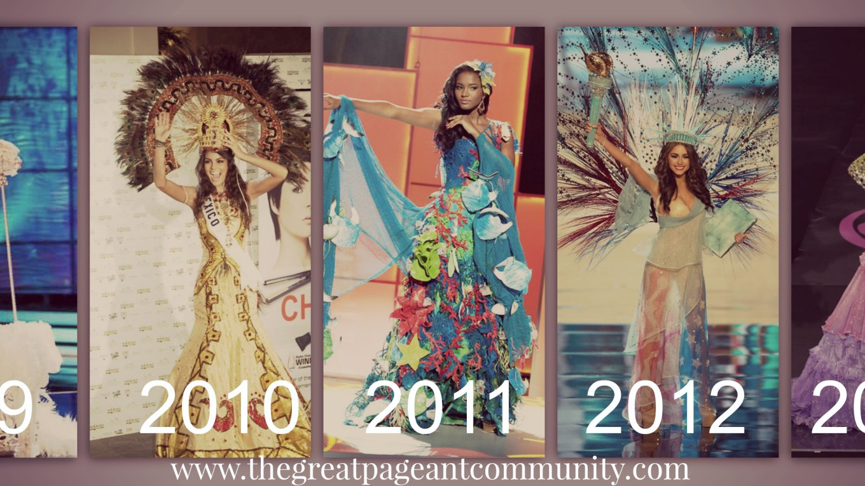 Miss Universe 2013 ~Maria Gabriela Isler;s National Costume at Miss Universe 2013