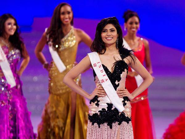Winning the Multimedia award was very helpful to Vanya Mishra (India) in placing in the Top 7 of Miss World 2012