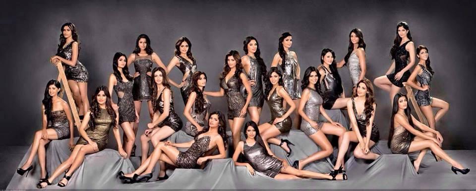 Femina Miss India 2015 Finalists