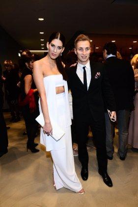 Aneta Vignerová (Miss World CR 2009) with boyfriend