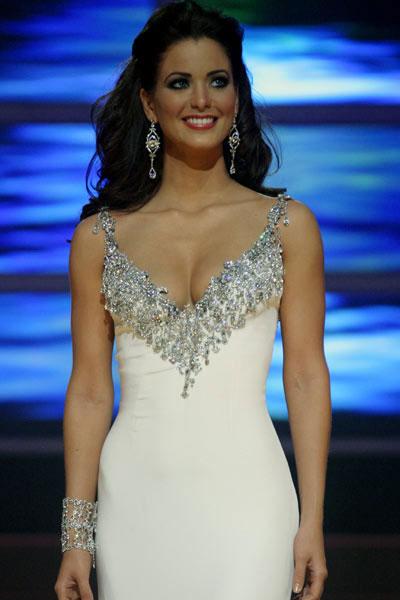 Ingrid Rivera at Miss Puerto Rico Universe 2008