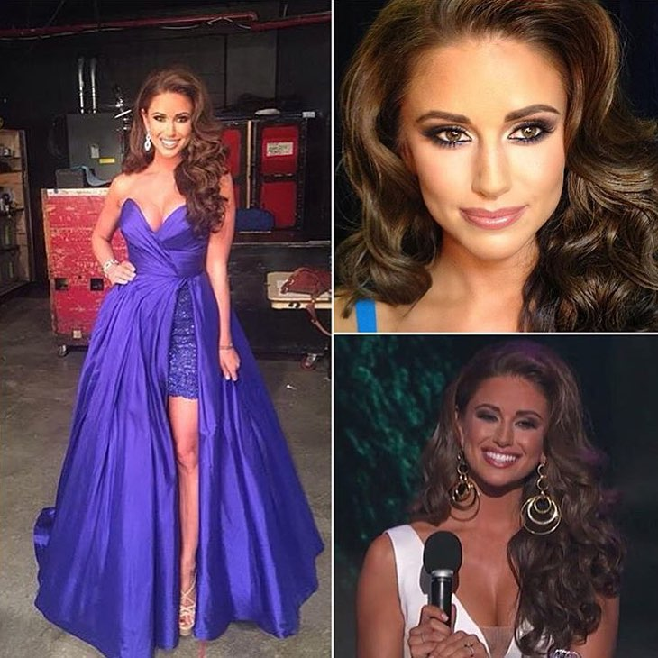 Miss USA 2015 Preliminary Evening Gown