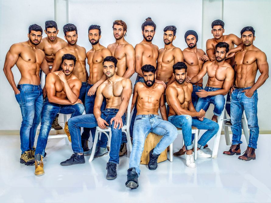 Mr India World 2015 Glam shots