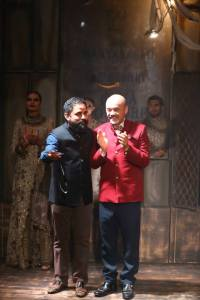 Sabyasachi Mukherjeee with Christian Louboutin