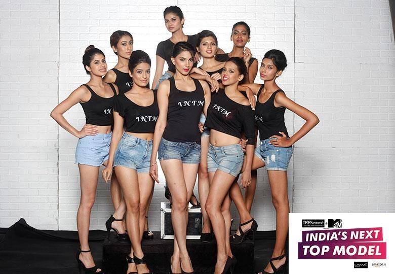 INDIA'S NEXT TOP MODEL CONTESTANTS