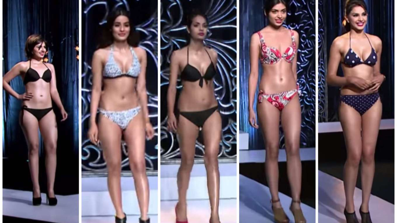 India's Next Top Model Bikini