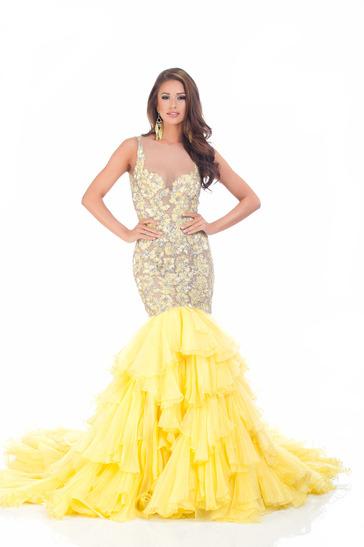 Miss USA 2014 Nia Sanchez during Miss USA 2014 Evening Gown Portrait
