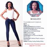 019 Tsaone B. Mogapi Miss Botswana 2015 Contestants