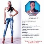 001Keamogetse O. Moalosi Miss Botswana 2015 Contestants