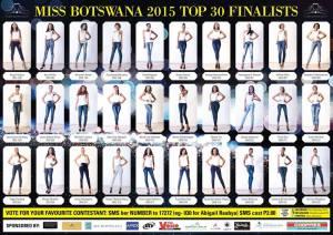 Miss Botswana 2015 Contestants