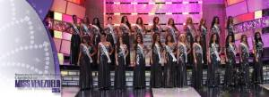 Miss Venezuela 2015 Contestants at Press Presentation