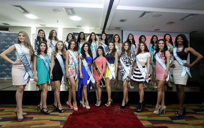 23 Contestants of Miss Mundo Colombia 2015