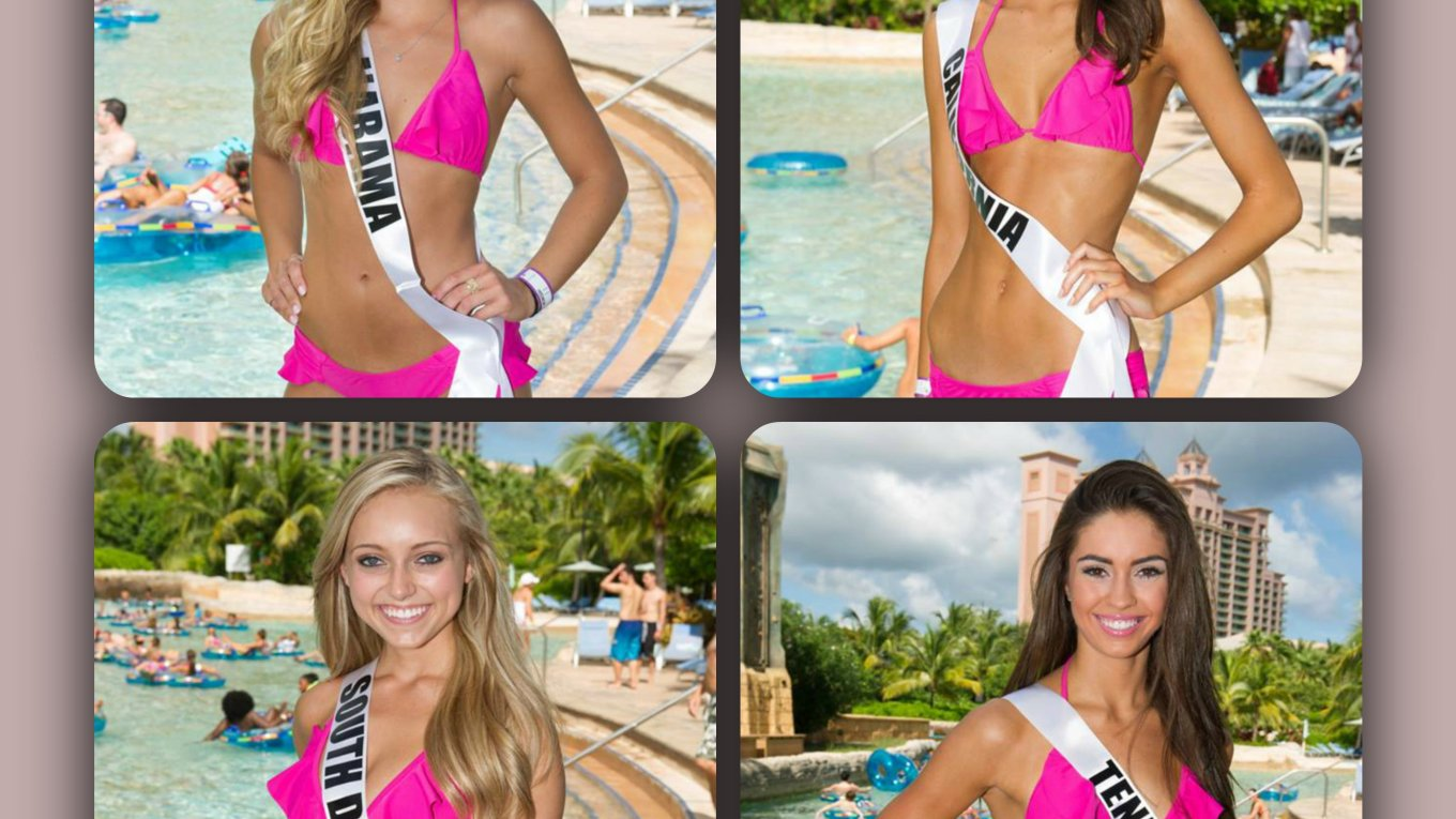 Miss Teen USA 2015 Swimsuits