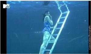 India's Next Top Model Episode 3 Water Photo shoot