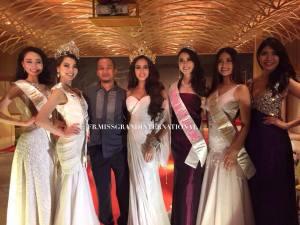 Ayaka Tanaka is Miss Grand International Japan 2015