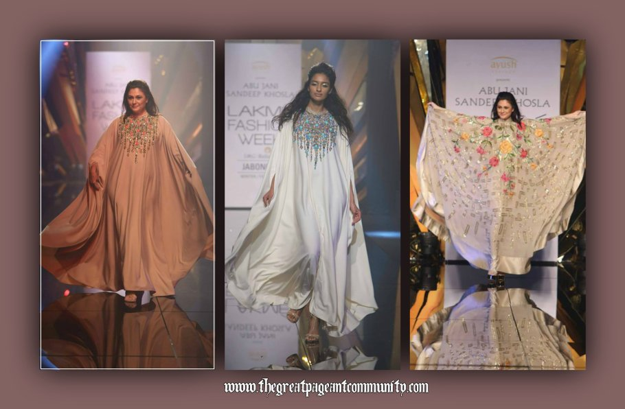 Kaftans at Abu Jani Sandeep Khosla's Jawani Jaaneman Collection