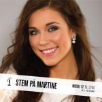 Martine Miss Universe Norway 2015 Contestants