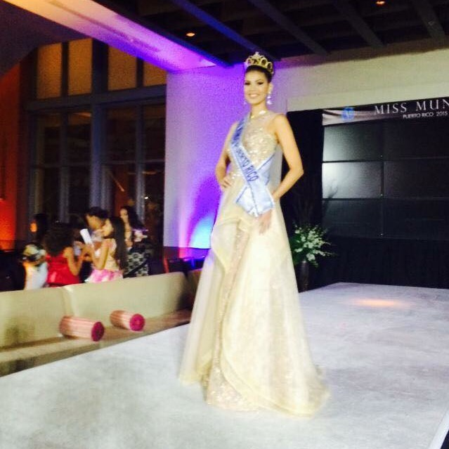 Keysi Vargas is Miss Mundo de Puerto Rico 2015