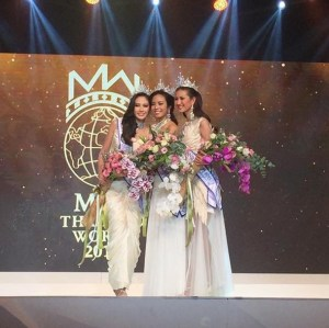 Thunchanok Moonnilta is Miss Thailand World 2015