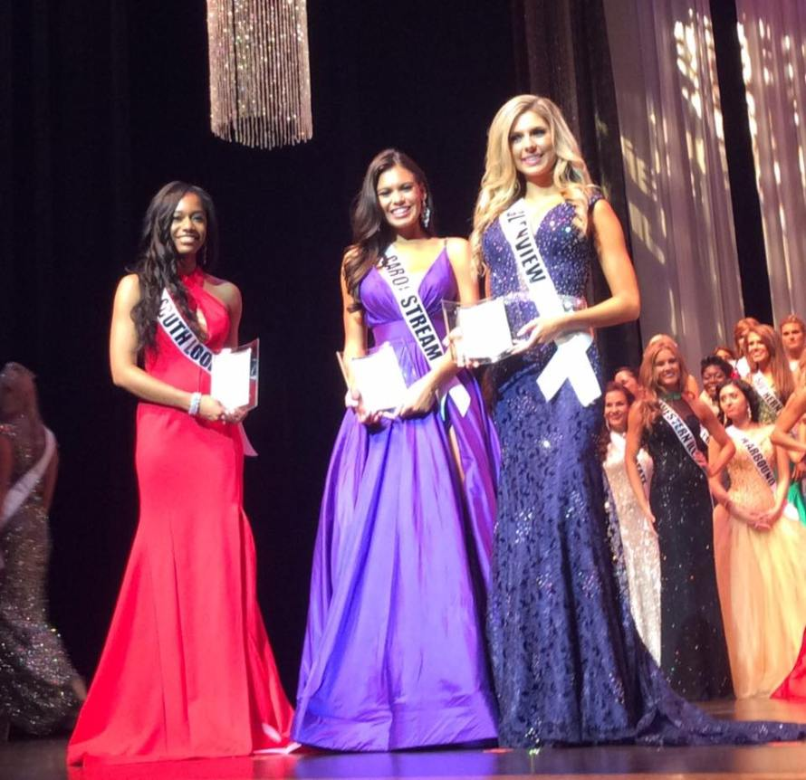 Miss Illinois USA 2016 Special Award winners.