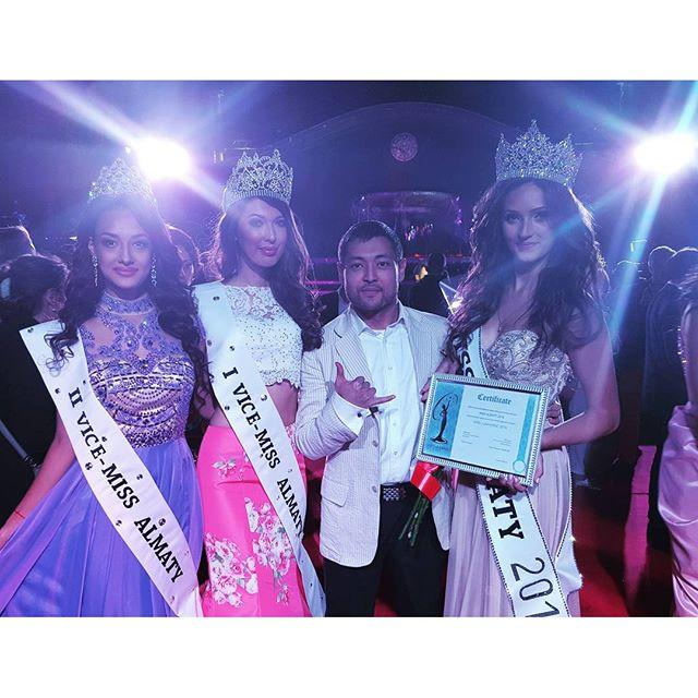 Miss Almaty 2015 winners